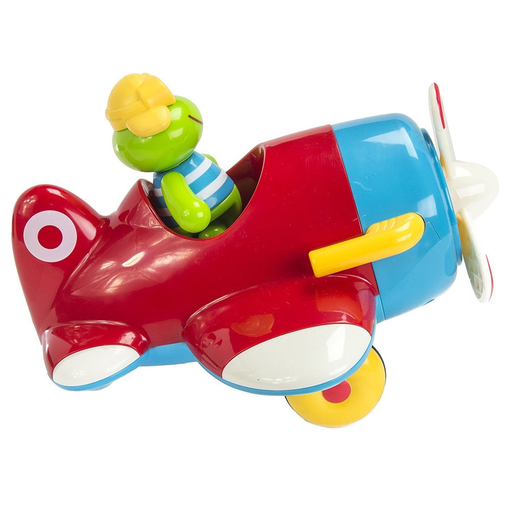 Early Learning Centre Frankie Frog and His Flying Machine ToyBox|ELC ...