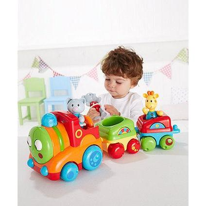 Early Learning Centre Musical Animal Train Gift Box:ELC:Homeware4u.com
