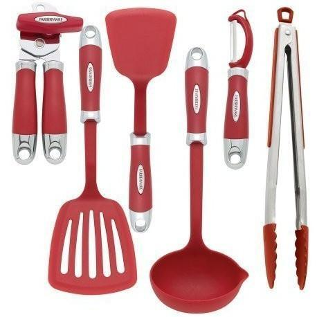 Farberware 6 Piece Kitchen Tool & Gadget Set, Homeware4u.com