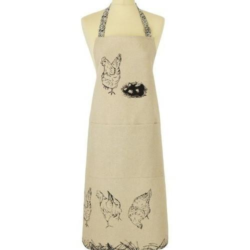 Free Range Linen/ Cotton Blend Apron, Homeware4u.com