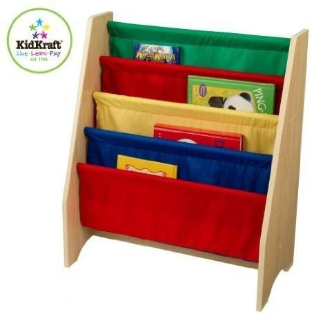 Kidkraft Sling Bookshelf Primary 14226, Homeware4u.com