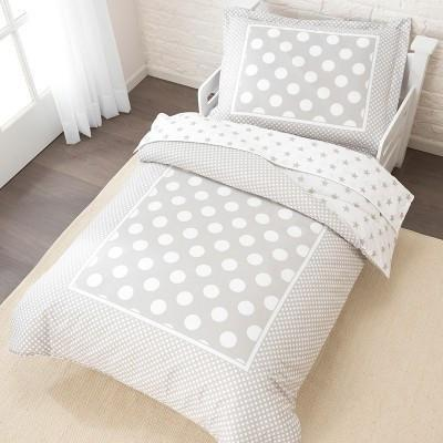 KidKraft Stars & Polka Dots Toddler Bedding Set:KidKraft:Homeware4u.com