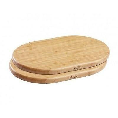Kitchin 2 piece Bamboo Mini Chopping Board Set, Homeware4u.com