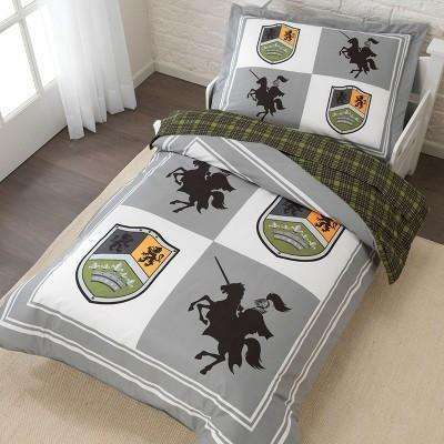 KidKraft Knights and Shields Castle Toddler Bedding Set:KidKraft:Homeware4u.com