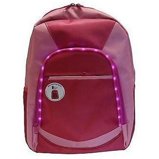 Children's  LED  light up backpack, Pink, Homeware4u.com