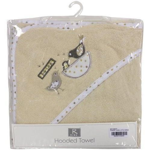Little Birds Baby Hooded Towel Cuddle Robe, Homeware4u.com