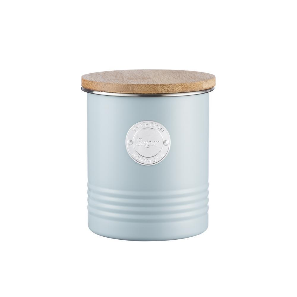 Typhoon Living Sugar Canister Blue 1 Litre, Homeware4u.com
