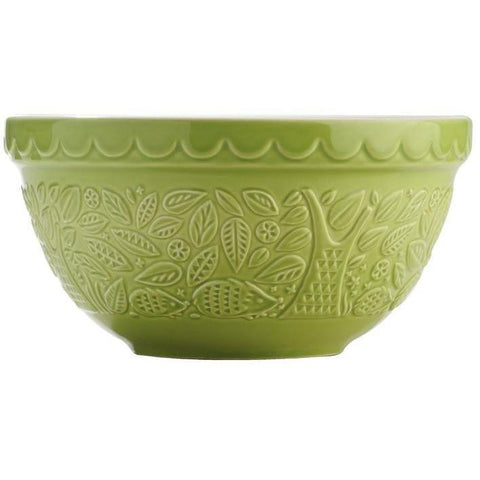 Mason Cash S30 21cm In the Forest Green Mixing Bowl:Mason Cash:Homeware4u.com