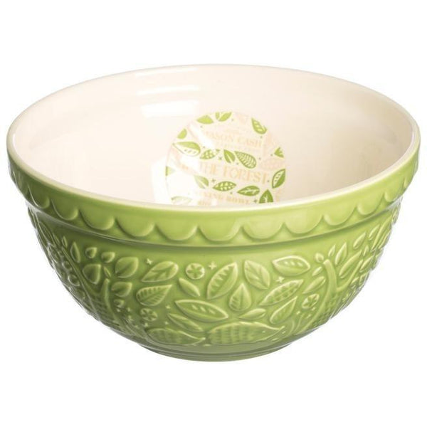 Mason Cash S30 21cm In the Forest Green Mixing Bowl, Homeware4u.com