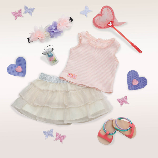 Our Generation Deluxe Outfit A Butterfly Moment 70.30198, Homeware4u.com