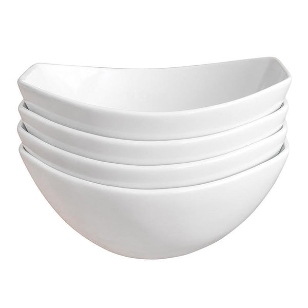 Over and Back 4 Piece Porcelain Side Dish / Serving Bowl Set, Homeware4u.com