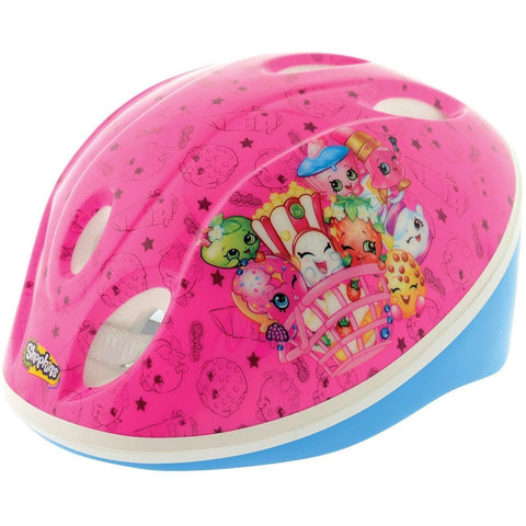Shopkins Girl's Collectible Safety Helmet - Pink, 48 - 52 cm, Homeware4u.com