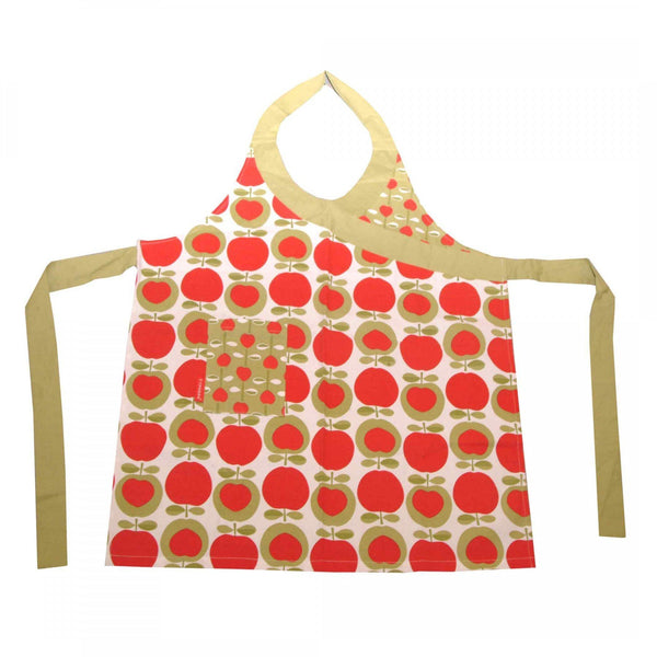 Typhoon Apple Heart Cotton Apron, Homeware4u.com