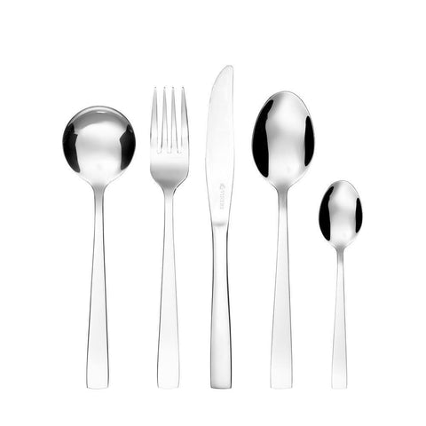 Viners Ambrose 18/0 16 Piece Set with 8 Free Spoons, Homeware4u.com