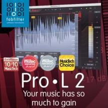 FabFilter announce new feature-packed Pro-L 2 limiter plugin!