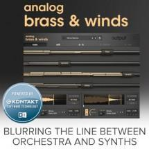 Output release new Analog Brass and Winds!
