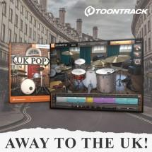 Toontrack dedicate February to the sound of iconic UK Pop