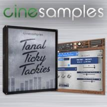 Cinesamples release Tonal Ticky Tackies