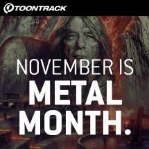Toontrack launch Metal Month 2017
