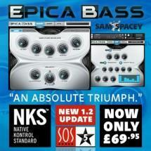 Epica Bass - now fully NKS compatible and new lower price