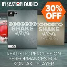 NEW Shimmer Shake Strike percussion Kontakt instrument