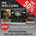 EastWest virtual instruments arrive at Time+Space!