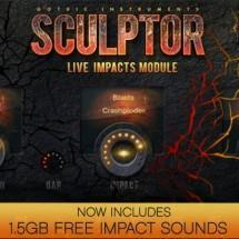 SCULPTOR: Live Impacts - now with free 1.5GB impact sounds pack