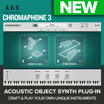 NEW RELEASE: AAS Chromaphone 3 percussion synth plugin