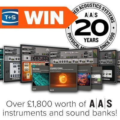 Win over £1,800-worth of AAS plugins - 2 bundles up for grabs!