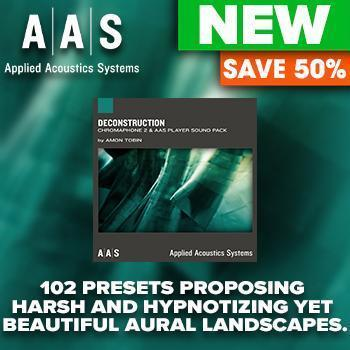NEW RELEASE: AAS Deconstruction Chromaphone 2 Sound Pack
