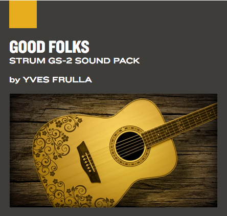 NEW RELEASE: AAS Good Folks Sound Bank for Strum GS-2