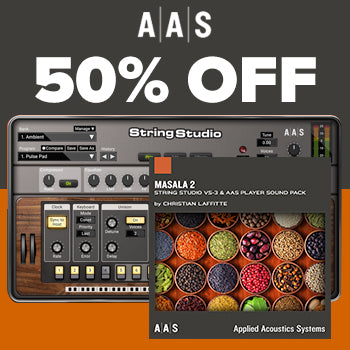 NEW RELEASE: AAS Masala 2 String Studio VS-3 Sound Pack