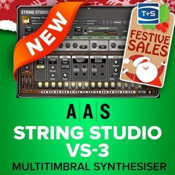 NEW RELEASE: AAS String Studio VS-3