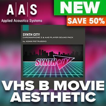 Brand new from AAS - Synth City Chromaphone 2 Sound pack & 50% off intro offer!