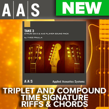 NEW RELEASE: AAS Take 3 Strum GS-2 Sound Pack