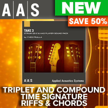 ENDS 22ND JAN - 50% off Applied Acoustic Systems new Take 3 GS-2 Sound Pack