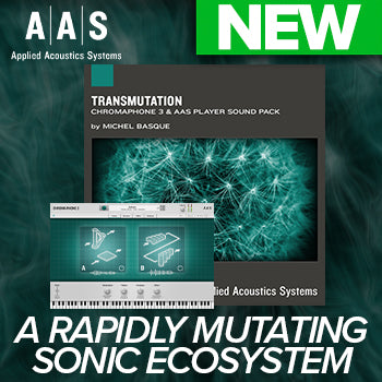 NEW RELEASE: AAS Transmutation Chromaphone 3 Sound Pack