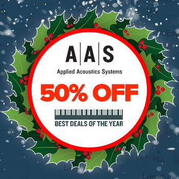ENDS 25TH JAN - Up to 50% off Applied Acoustic Systems