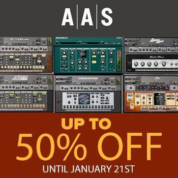 ENDS JANUARY 21ST - Save 50% off all AAS titles