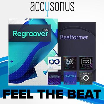 ENDS 26TH AUGUST - Save up to 50% in the Accusonus Beat Making Summer Sale!