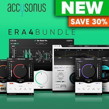 NEW RELEASE: Accusonus release Updated ERA 4 and Brand New ERA De-Esser Pro