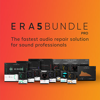 NEW RELEASE: Accusonus release updated ERA 5 audio repair bundles