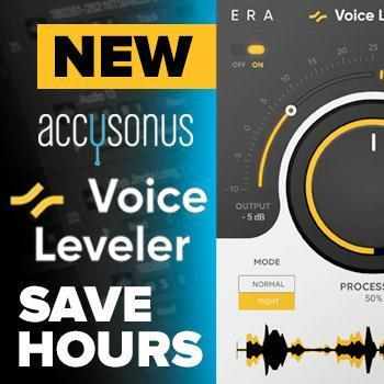 NEW RELEASE: Accusonus Voice Leveler