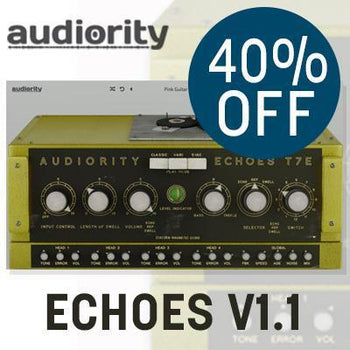 Ends 20th October - Save 40% off Audiority Echoes T7E