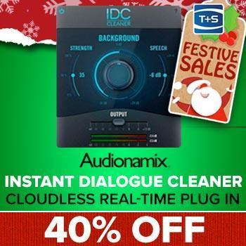 ENDS 7TH JANUARY - Save 40% off the new IDC 1.5 Instant Dialogue Cleaner Plugin