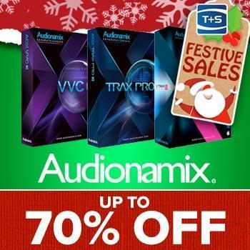 ENDS 7TH JANUARY - Audionamix up to 70% off Quality Post Production Tools
