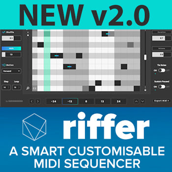 NEW UPDATE: Audiomodern release RIFFER V2
