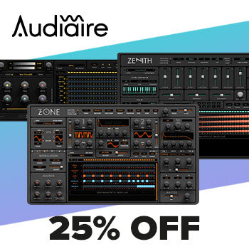 ENDS 10TH JULY - Now's your chance to save 25% off ALL Audiaire titles!
