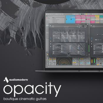 NEW RELEASE: Opacity, boutique cinematic guitars for KONTAKT Player