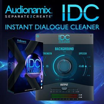 Audionamix arrives at Time+Space with new IDC Instant Dialogue Cleaner